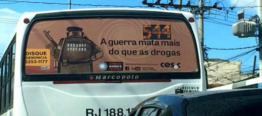 Em SP, Alckmin censura campanha antiproibicionista
