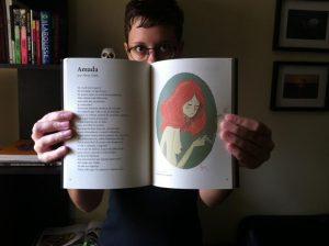 """Aline Valek escreveu e ilustrou o conto """"Amada"""" para a Coletânea Amor: Pequenas Histórias (Imagem: Arquivo Pessoal)"""