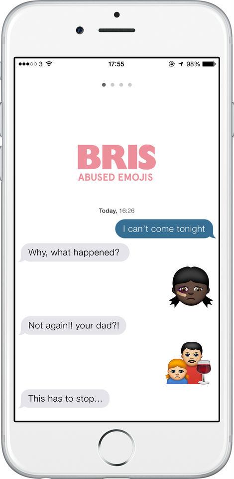 Exemplo de como os 'emojis' podem ser utilizados. (Foto: reprodução/Abused Emojis)