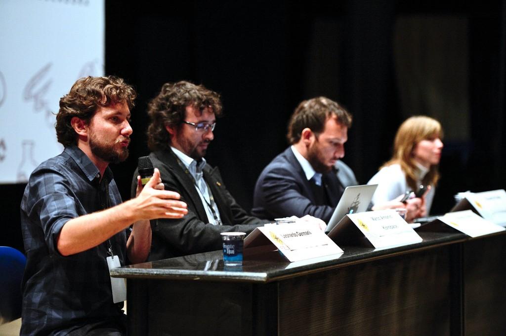 """Debate """"Direitos Civis e Direitos Culturais na Internet"""". (Foto: Tárlis Schneider)"""