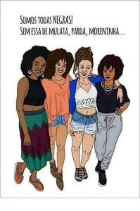 """Daniela Gomes sobre ser negra de pele clara: """"eu sempre me senti meio sem lugar e um pouco cansada no Brasil"""". (Imagem: Reprodução / Facebook)"""