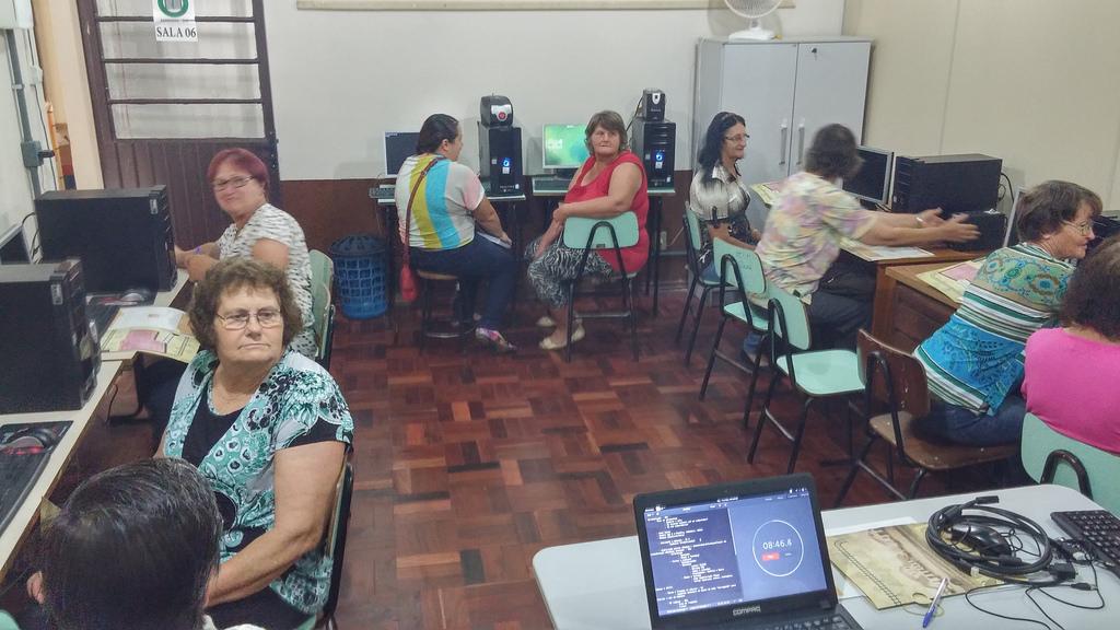 Oficina da comunidade WoMOZ na cidade de Gaurama. (Foto: WoMoz Brasil)
