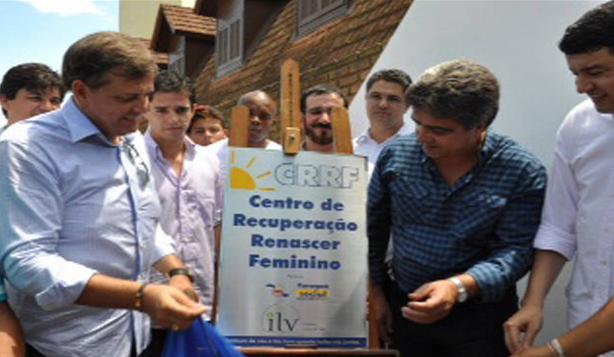 Prefeito Antonio Carlos da Silva (PSDB) na inauguração do centro. (Foto: divulgação)