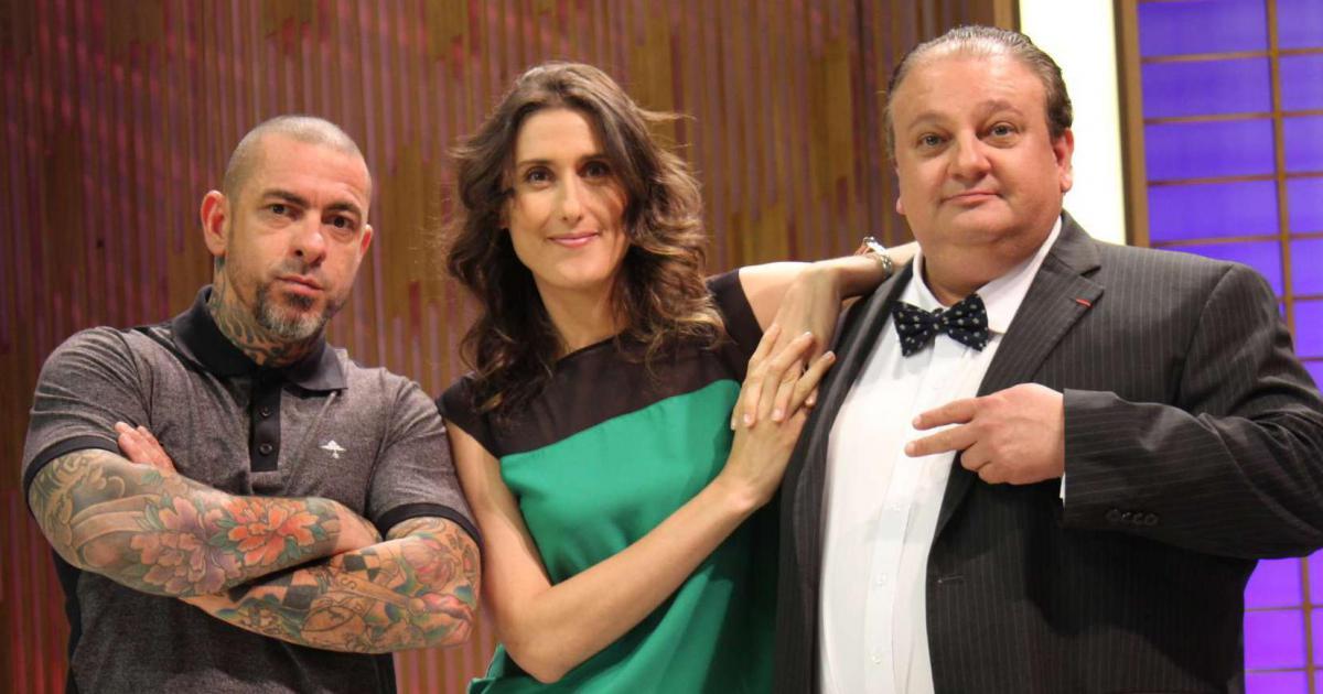 Henrique Fogaça, Paola Carosella e Erick Jacquin, jurados e professores MasterchefBR