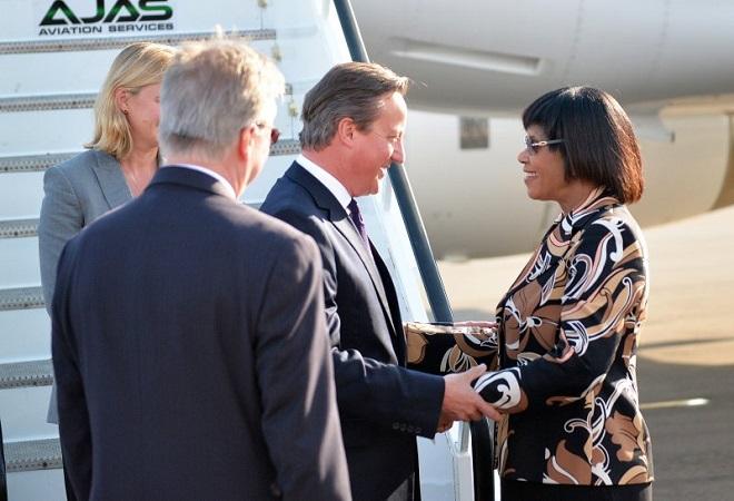 david cameron visita a jamaica