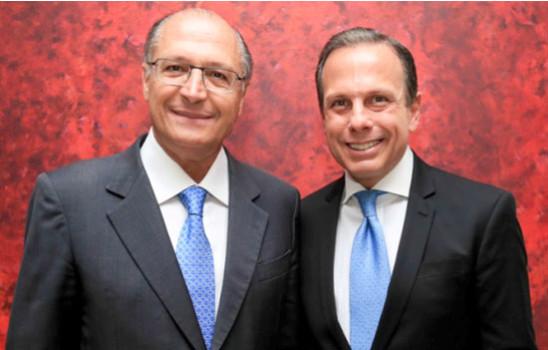 Resultado de imagem para joao doria e alckmin