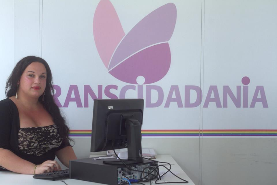 Graças ao Transcidadania, Amanda saiu da maginalidade e agora quer ser conselheira tutelar. (Foto: Caio Costa)