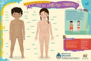 País preparou materiais de conscientização para alunos e professores sobre educação sexual (Reprodução)