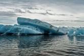 geleira derretendo