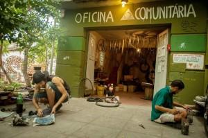 Oficina Comunitária de Bicicletas, em Porto Alegre