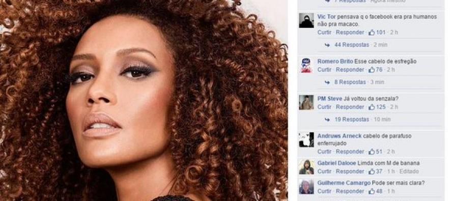 Taís Araújo é vítima de ataques racistas na internet
