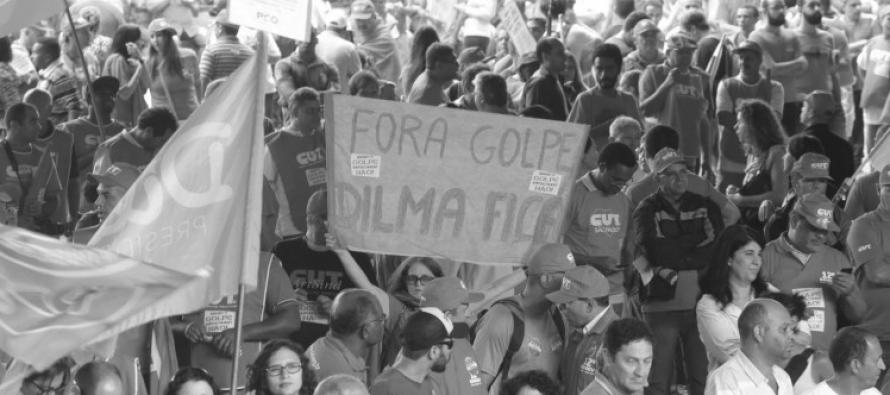 """Histórias do golpe: """"As semelhanças com 64 não estão na superficie, são mais aprofundadas"""", diz, nas ruas, Zélio Alves Pinto"""