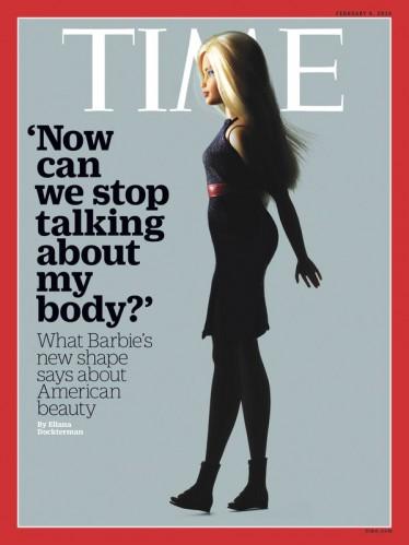 """A capa da revista Times: """"Agora podemos parar de falar sobre o meu corpo?"""""""