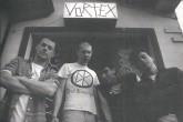 Reprodução : Facebook. (Foto de Adolfo Gerchman. Da esquerda para a direita, Heron Heinz, Wander Wildner, Carlos Gerbase e Claudio Heinz)