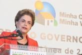 Caxias do Sul - RS, 07/03/2016. Presidenta Dilma Rousseff durante cerimônia de entrega de 320 unidades habitacionais em Caxias do Sul/RS e entregas simultâneas de 976 em Sobral/CE, 432 em Três Lagoas/MS, 400 em Jundiaí/SP e 306 em Paracatu/MG. Foto: Roberto Stuckert Filho/PR