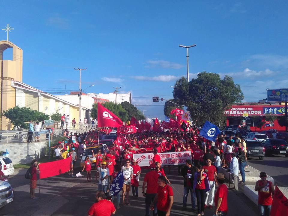 Mossoró (RN) / Levante Popular da Juventude