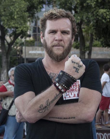 O cantor Otto também participou da manifestação no Rio (foto: Mídia Ninja)