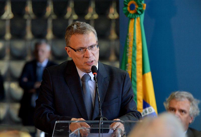 Brasília -  O ministro da Justiça, Eugênio Aragão inaugura as sessões de trabalho das comissões de 2016, lembrando os 52 anos do golpe militar de 1964 (Wilson Dias/Agência Brasil)