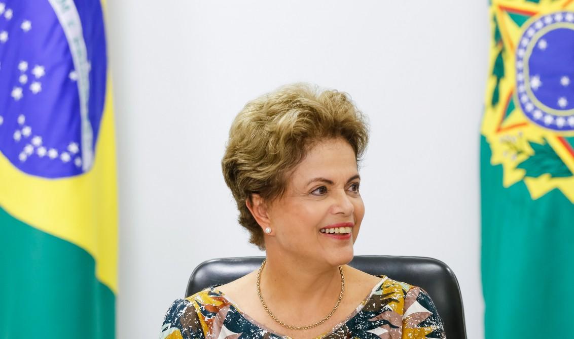 Brasília - DF, 10/09/2015. Presidenta Dilma Rousseff durante reunião com Representantes de Movimentos Sociais e de Moradia no Palácio do Planalto. Foto: Ichiro Guerra/PR