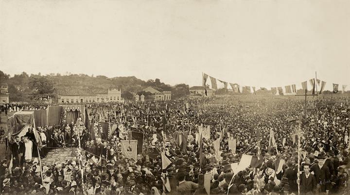Brasilidade na fotografia - Missa em comemoração à abolição 17-05-1888