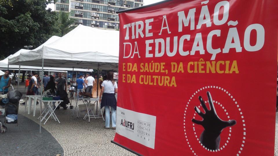 Mobilização no Rio de Janeiro (Foto: Divulgação)