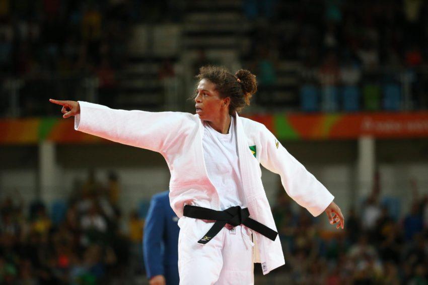 08 de Agosto de 2016 - Rio 2016 -Judô- Semi final Rafaela Silva vence Corina .Foto: Roberto Castro/ Brasil2016