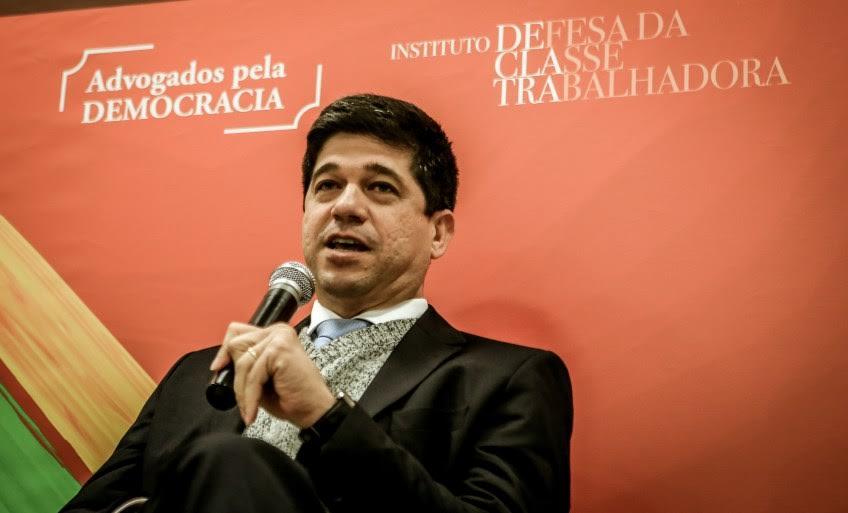 """Hugo Cavalcanti Melo Filho é Juiz do Trabalho e presidente da Associação Latino-americana de Juízes do Trabalho"""" (Foto: Leandro Taques)"""