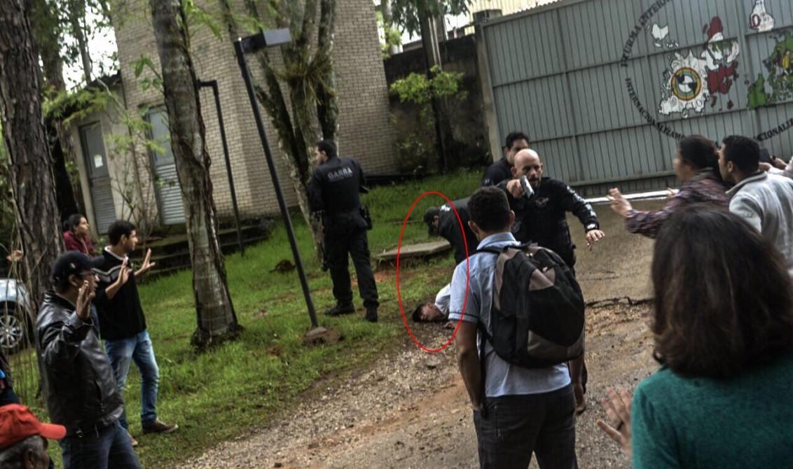 Resultado de imagem para Invasão Escola Nacional Florestan Fernandes