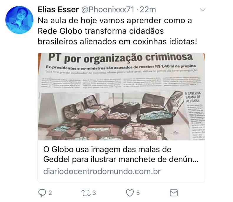 Organização criminosa: Lula, Dilma e mais 6 do PT denunciados ao STF