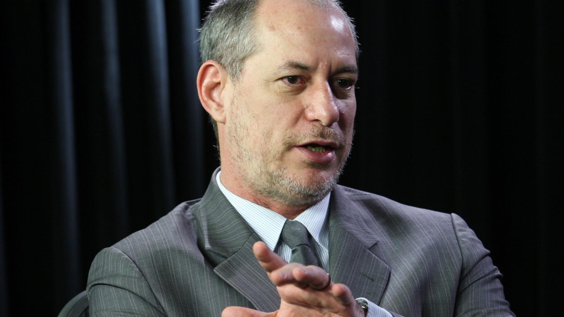 Ciro admite ajustar discurso para ter o DEM