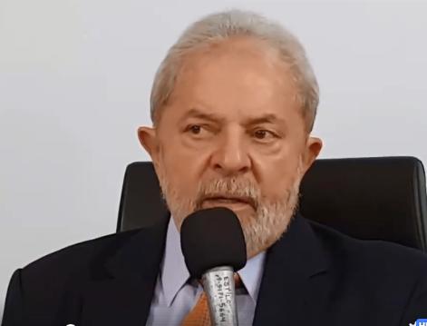 Resultado de imagem para 'Tenho a tranquilidade dos inocentes', diz Lula