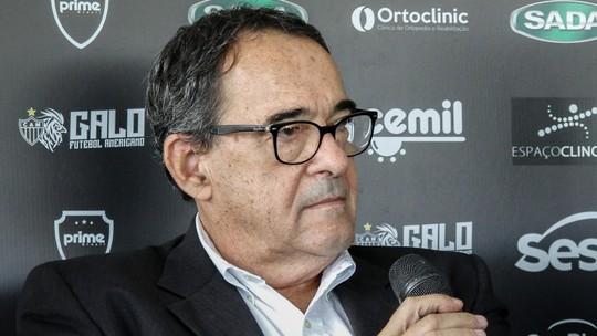 Atlético faz homenagem a Bebeto de Freitas em memorial na sede