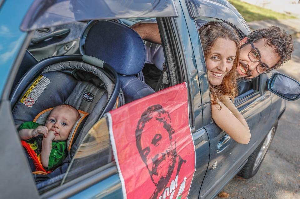 Vigília Lula Livre denuncia ataque fascista e avisa: não nos intimidarão