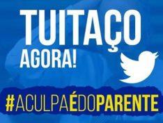 #aCulpaédoParente chega às primeiras posições no Twitter com críticas ao governo