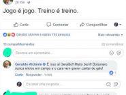 """Ao tentar usar perfil """"fake"""" para atacar Bolsonaro em sua página, equipe de Alckmin erra e usa o dele"""