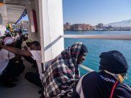 Migrantes do navio Aquarius rejeitados pela Itália chegam à Espanha