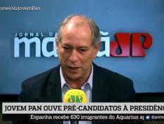 """Ciro Gomes admite aliança com o DEM, mas chama Fernando Holiday de """"capitãozinho do mato"""""""
