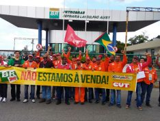 FUP programa protesto em Brasília contra entrega do pré-sal