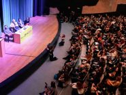 Debate entre pré-candidatos de esquerda abre o Salão do Livro Político em SP