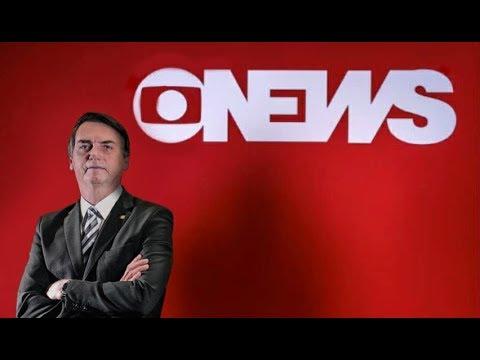 Resultado de imagem para Jair Bolsonaro - Sabatina - Globo News