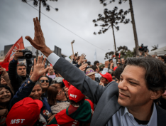 Com 17% em pesquisa Genial Investimento/Brasilis, Haddad consolida disputa com Bolsonaro
