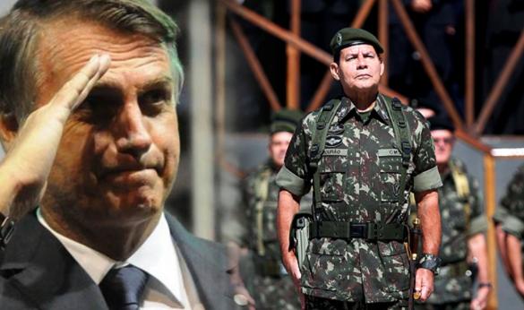 Resultado de imagem para General Mourão diz que Exército agirá