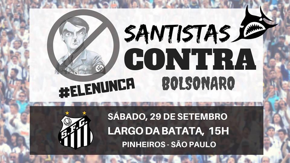 5bca1fb78a Movimento contra Bolsonaro chega a outros torcedores após manifestação de  presidente da Gaviões
