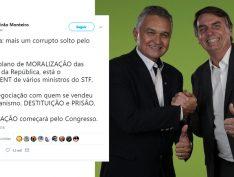 """Eleito deputado, general aliado de Bolsonaro quer """"destituição e prisão de vários ministros do STF"""""""