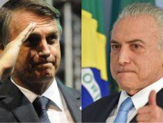 O voto em Bolsonaro é contra o PT, mas é, também, em favor de Temer