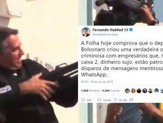 PT vai acionar PF e Justiça Eleitoral sobre uso de caixa 2 na campanha de Whatsapp de Bolsonaro