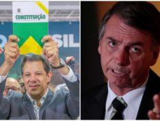 Datafolha: Bolsonaro 59%; Haddad 41%