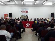 Frente Suprapartidária pela Democracia realiza plenária no PR em apoio a Haddad