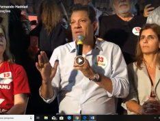 """Haddad em Fortaleza: """"Vamos virar a eleição e derrotar um trambiqueiro"""""""