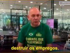 Dono da Havan divulga telefone de jornalista que o questionou sobre fake news